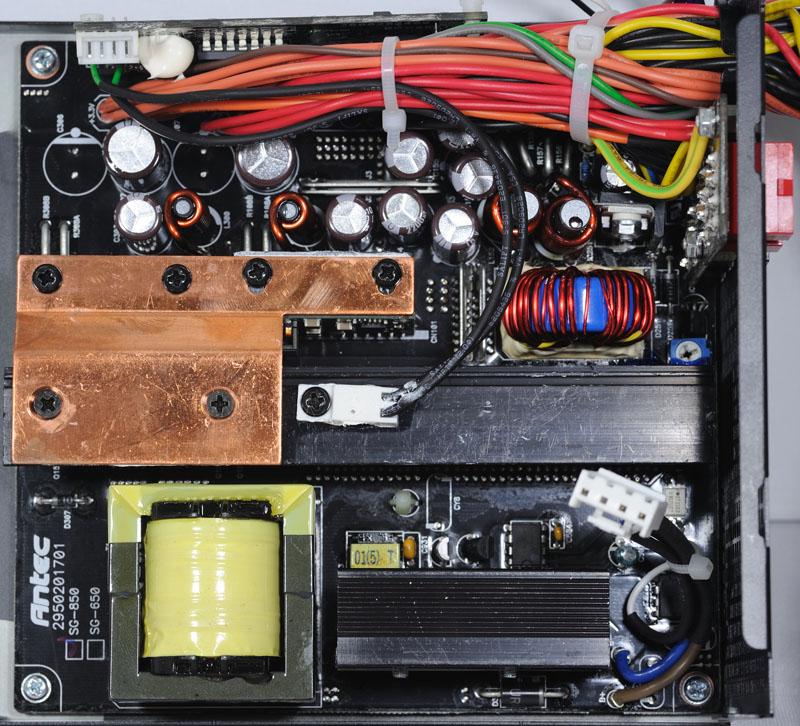 功率级及整流滤波输出电路板,用来转换各路所需电压输出.